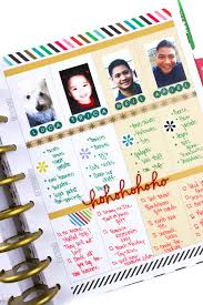 the happy planner weekly layout christmas wish list u2014 me u0026 my