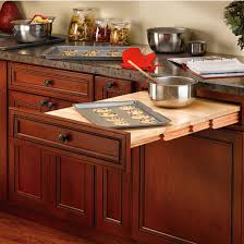 PullOut Tables PullOut Cutting Surfaces Appliance Shelves And - Kitchen pull out table