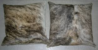 Cowhide Pillows Throw Pillows And Bed Skirts By Woolrich