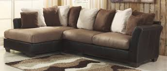 Ashley Furniture Leather Sectional With Chaise Buy Ashley Furniture 1420167 1420116 Masoli Mocha Laf Corner