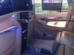 Car Modifications Interior My Dc Lounge Toyota Innova Ultimate Luxury Team Bhp