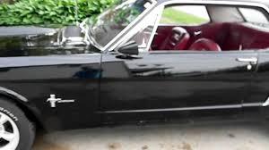 64 Mustang Black 1964 1 2 Mustang Youtube