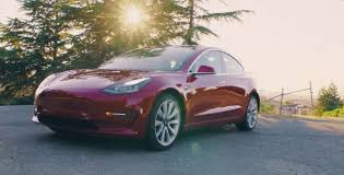 tesla model 3 long range trim will go 310 miles on a charge