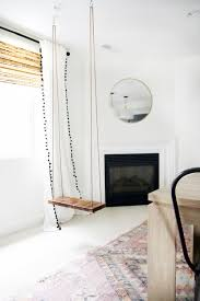 Swing Chairs For Rooms How To Make An Indoor Swing Chris Loves Julia