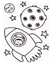 astronaut rocket ship coloring download u0026 print