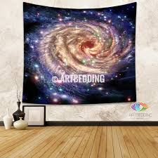 galaxy tapestry colorful spiral galaxy in deep space with stars galaxy tapestry colorful spiral galaxy in deep space with stars wall tapestry galaxy tapestry