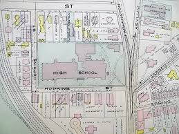 1909 hartford ct map bushnell park capitol armory union station
