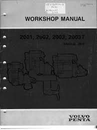 volvo penta 2002 worksh piston cylinder engine