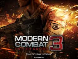 modern combat 3 apk free modern combat 3 fallen nation