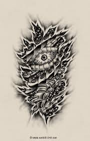 biomechanical tattoos and designs page 36