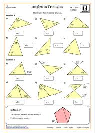 lines and angles worksheet answers ks3 and ks4 angles worksheet