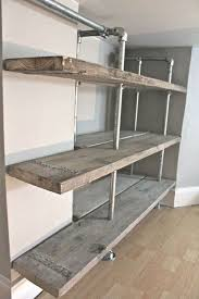 Iron And Wood Bookcase 59 Diy Shelf Ideas Built With Industrial Pipe Simplified Building