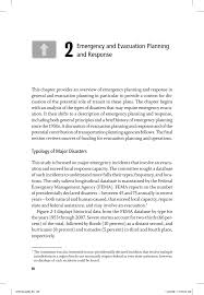 Fire Evacuation Route Plan by 2 Emergency And Evacuation Planning And Response The Role Of