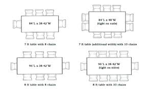 average kitchen table size likeable standard table sizes in size house plans dining for 4 17