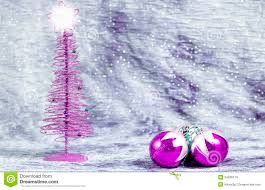 purple ornaments with silver background stock photo