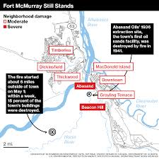 Where Is Fort Mcmurray On A Map Of Canada by Canada U0027s 6 9 Billion Wildfire Is The Size Of Delaware U2014and Still