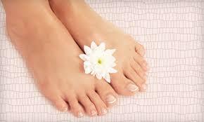 basic pedicure lee spa nails groupon