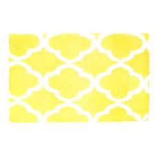Yellow Bathroom Rugs Yellow Bath Rugs Jeux De Decoration