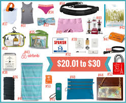 travel gifts images 99 gifts for women who travel under 99 her packing list png
