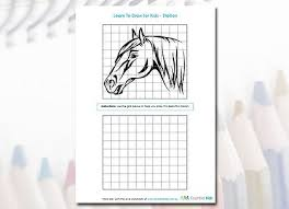 kids can easily learn to draw with this free printable worksheet