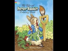 tale peter rabbit coloring book beatrix potter video