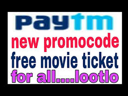 paytm new promocode launched free movie ticket for all