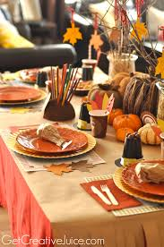 thanksgiving table decorations modern kids thanksgiving table entertaining ideas party themes for diy