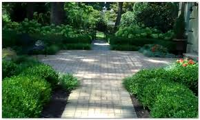 Formal Front Yard Landscaping Ideas - affordable hardscaping and landscaping ideas for front yards