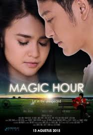 poster film romantis indonesia sinopsis film magic hour theatersatu