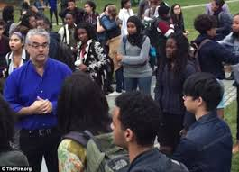 Jfk Halloween Costume Video Shows Mob Yale Students Encircling Professor