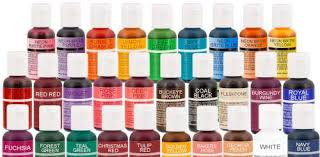 cake decorating supplies food colouring gel colours