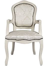French Armchair Uk Vintage Retro French Louis Xv Style Chair With Grey Fabric