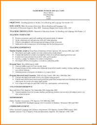 Resume Sle After School Program resume objective for child care aide exle cv 33a
