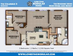 lone star modular homes craftsman style columbus floor plan lone