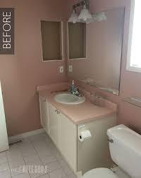 bathroom makeover ideas on a budget diy bathroom makeover on a budget pink notebookpink