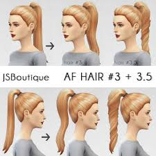the sims 4 cc hair ponytail the sims 4 ponytail hairstyle 3 3 5 download