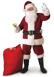 santa claus picture regal santa suit costume deluxe crimson santa claus costume