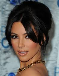 hairstyles with bangs and middle part 23 brave kim kardashian middle parting fringe wodip com