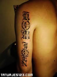 imagenes letras goticas nombres letras góticas en el brazo tatuajes 123