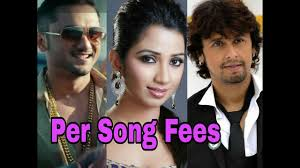 per song fees of top bollywood playback singers with loop