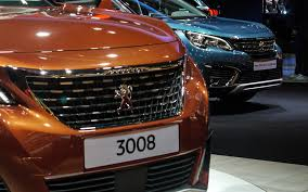 peugeot 3008 2016 interior paris 2016 peugeot u0027s 5008 and 3008 make a pair car design news