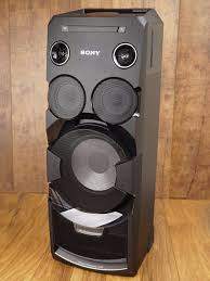 sony home theater system with bluetooth sony bluetooth speaker has disco lights cd palyer radio and big