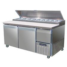 continental pizza prep table buy continental refrigerator cpa68 d forced air pizza preparation