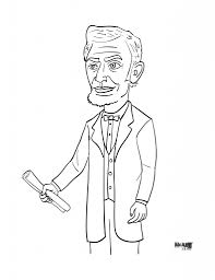 download coloring pages abraham lincoln coloring page president