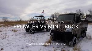 mitsubishi mini truck arctic cat prowler vs mitsubishi mini truck youtube