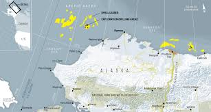 Alaska On A Map by Senator Ellis Legislative Update