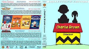 charlie brown thanksgiving dvd charlie brown collection blu ray dvd cover 1965 2011 r1 custom