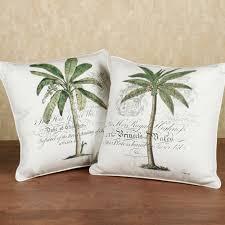 unique pillows home palm tree decorative pillow set ivory set of unique pillows home palm tree decorative pillow set ivory set of two