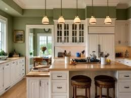 Painted Kitchen Cabinets Color Ideas Colorful Kitchens Popular Kitchen Paint Kitchen Wall Colour
