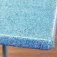 stay put table covers stay put elastic tablecloth wood grain elasticized table cover view